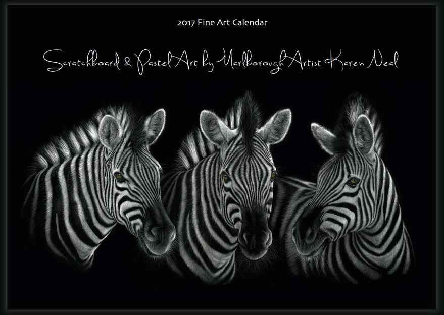 Calendar Art Nz : Fine art calendar by marlborough new zealand wildlife